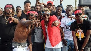 Behind the scenes of Thunder Fire by Shatta Wale ft. SM Militants