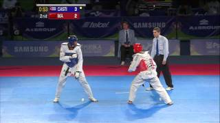 getlinkyoutube.com-2013 WTF World Taekwondo Championships Final | Male -87kg