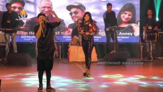getlinkyoutube.com-LIVE Performance - Desi Rappers - MD KD ANNEY B From Haryana - Mumbai Bhaidass Hall