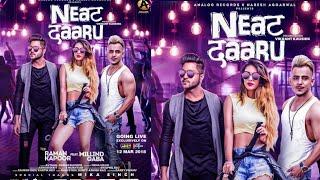 Neat Daaru (Official Video):- Millind Gaba (MG) Ft. Raman Kapoor   New Song Poster Making
