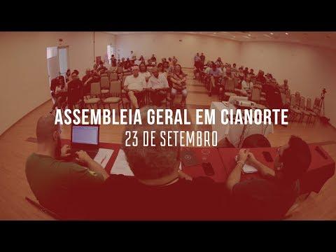 Assembleia geral em Cianorte - 23 de Setembro
