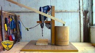 getlinkyoutube.com-Как сделать сверлильный станок / Homemade Drill Press