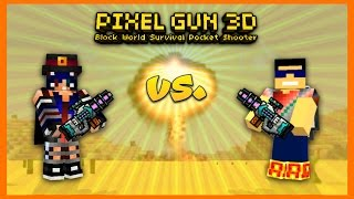 getlinkyoutube.com-Pixel Gun 3D - 1v1 With Nuri!