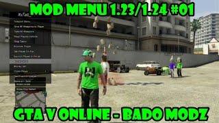 getlinkyoutube.com-GTA V Online - Mod Menu 1.23/1.24  Bado Modz