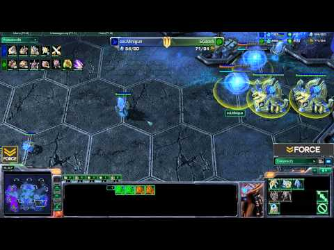 StarCraft 2 - IdrA [Z] vs Minigun [P] G1 - Commentary