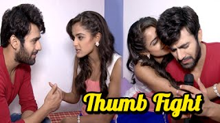getlinkyoutube.com-Meher & Abeer Get Into A Fight | Thumb Fight | Badtameez Dil