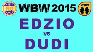 getlinkyoutube.com-EDZIO vs DUDI # WBW 2015 Gdańsk @ bitwa freestyle
