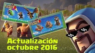 getlinkyoutube.com-Nuevo Mago Nivel 7, Dragón Nivel 6, Bebé Dragón 5 y Más Novedades en la Actualización Octubre 2016