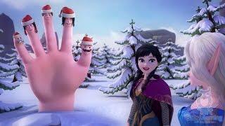 getlinkyoutube.com-❄ FROZEN 🎄 Christmas Finger Family Song 🎅 Christmas Carol   FROZEN Finger Family Christmas Songs