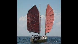 getlinkyoutube.com-Terrapin #1. A Junk Rigged Sailboat travels in the Canadian Maritimes in 2010