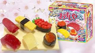 getlinkyoutube.com-ของเล่นญี่ปุ่นกินได้ ชุดทำข้าวปั้นซูชิ Popin Cookin Sushi