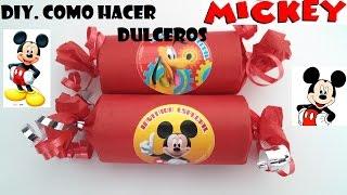 getlinkyoutube.com-DIY.COMO HACER DULCERO FACIL DE MICKEY MOUSE