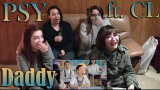 "getlinkyoutube.com-PSY - ""Daddy"" feat CL MV Reaction"