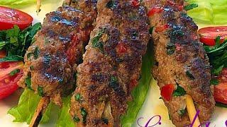 كباب طاوه عراقي  Beef Kebab مطبخ ليندا