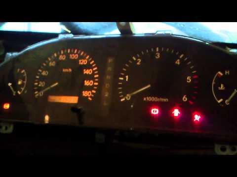 Toyota Carina 3S-GTE, первый запуск без бензина