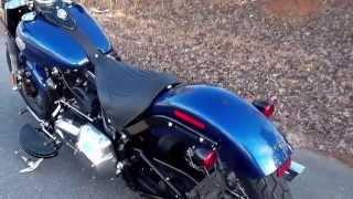 getlinkyoutube.com-2015 Softail Slim FLS Harley Davidson of Charlotte NC Blue