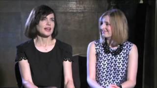 getlinkyoutube.com-Downton Abbey interview: Elizabeth McGovern and Laura Carmichael on Downton's success
