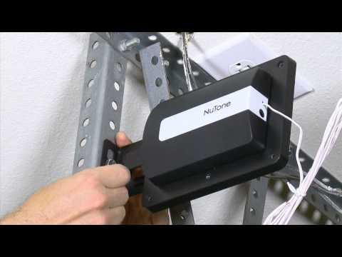NuTone NGD00Z Smart Home Garage Door Controller Installation Video