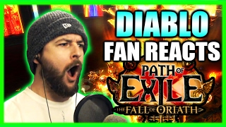 getlinkyoutube.com-Diablo Fan Reacts! New Path of Exile Updates - Fall of Oriath and Legacy League Gameplay Impressions