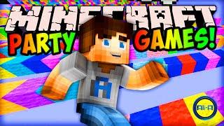 Minecraft EPIC PARTY GAMES! - w/ Ali-A, Preston & Pete!