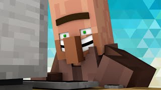 getlinkyoutube.com-When Villagers Discovers Porn - Minecraft Animation