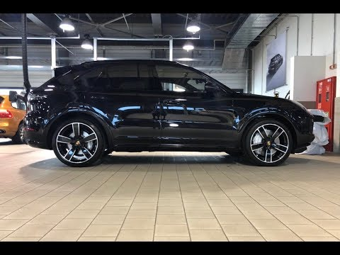 New Porsche Cayenne Turbo E3 Exclusive Manufaktur the first in Ukraine