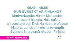 Forskartorget2016 - Hur svenskt är Finland