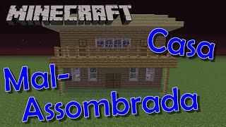 getlinkyoutube.com-Como fazer uma casa Mal-Assombrada! - Tutoriais Minecraft