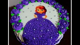 getlinkyoutube.com-Bolo Princesa Sofia