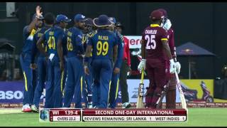getlinkyoutube.com-Highlights: 2nd ODI at R Premadasa – Windies in Sri Lanka 2015