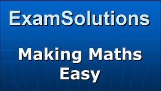 Transformation Matrices : Enlargement scale factor k (negative) : ExamSolutions