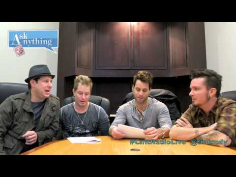 Parmalee CMT Radio Live Ask Anything Chat w/ Cody Alan 12/10/13