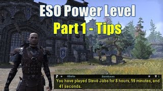 getlinkyoutube.com-ESO Power Leveling: #1 Getting Setup