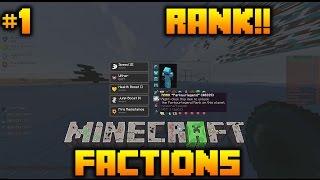 "Minecraft FACTIONS #1 ""RANK FROM ENVOY!!"" - w/GravityLegend & ILive4God"