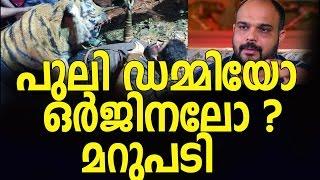 The Pulimurugan Tiger original or FAKE? - Vyshakh's response here