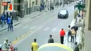 Italian Mafia declares war on Muslim migrants, Gambian migrant shot dead in the streets in Sicily width=