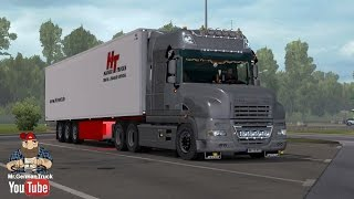 getlinkyoutube.com-[ETS2 v1.26] DAF XT Rework + Cabin & Flag DLC ready