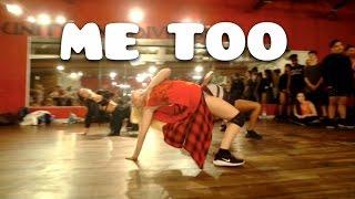 getlinkyoutube.com-ME TOO by @Meghan_Trainor | Choreography by @nikakljun