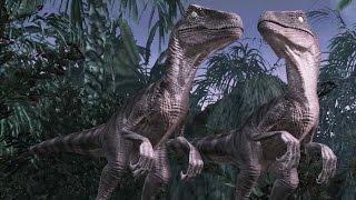 getlinkyoutube.com-Jurassic Park: The Game (Telltale) - Episode 2, Part 5: Raptor Attack!