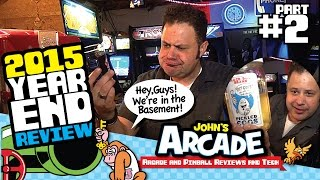John's Arcade Tour Dec 2015 - YEAR END REVIEW! ALL ACCESS TOUR! -- PART 2