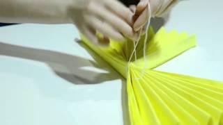 getlinkyoutube.com-Наталья Дмитренко. Как сделать помпон из бумаги