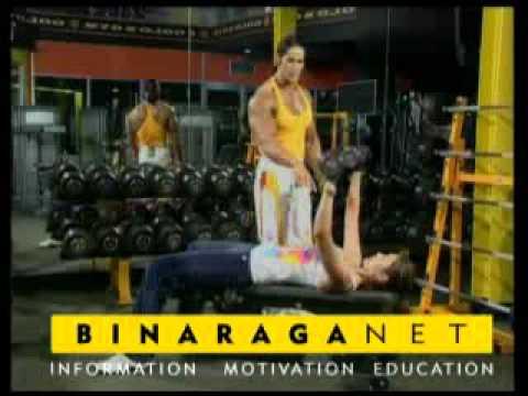 Latihan Otot Dada bersama Ade Rai