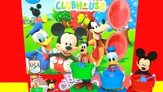 Disney MICKEY MOUSE Clubhouse Board Game Hi Ho Cherry-O Video Toy Review Pluto Donald Goofy Toys