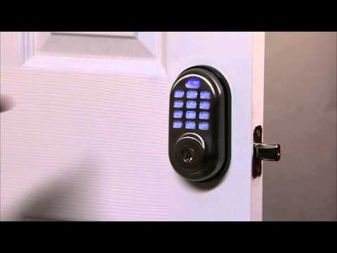 Yale Real Living Push Button Deadbolt Programming - Privacy Button 07