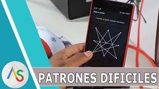 AUMENTA LA SEGURIDAD CON PATRONES DIFICILES #PARTE 4