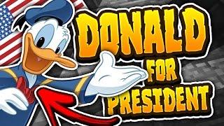 getlinkyoutube.com-DONALD DUCK FOR PRESIDENT?!