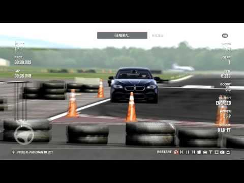 Forza Motorsport 4 - 2012 BMW F10 M5 - Top Gear Test Track