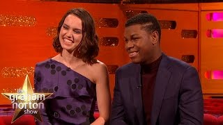 Star Wars Cast On Keeping The Movie Secrets - The Graham Norton Show