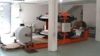 getlinkyoutube.com-Flexo printing machine type FF1104