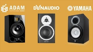 getlinkyoutube.com-ADAM A7X vs Dynaudio BM5mkIII vs Yamaha HS7 Review Comparison